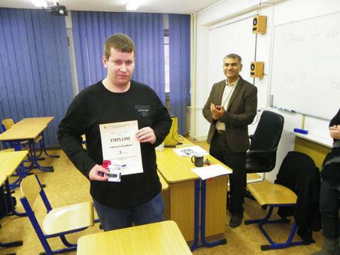 Dňa 10. decembra 2012 sa uskutočnil xxiii. ročník školského kola